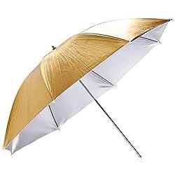 Godox UB-007 Parapluie doré/Argent 84 cm || Parapluie Photo || Parapluie Photo Studio