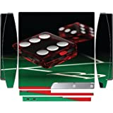 Craps Casino Dice Playstation 3 & PS3 Slim Vinyl Decal Sticker Skin by Moonlight Printing by Moonlight Printing