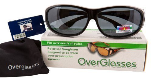 Black Overglasses - Sunglasses For Glasses!