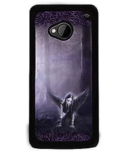 Printvisa 2D Printed Girly Designer back case cover for HTC One M7 - D4152