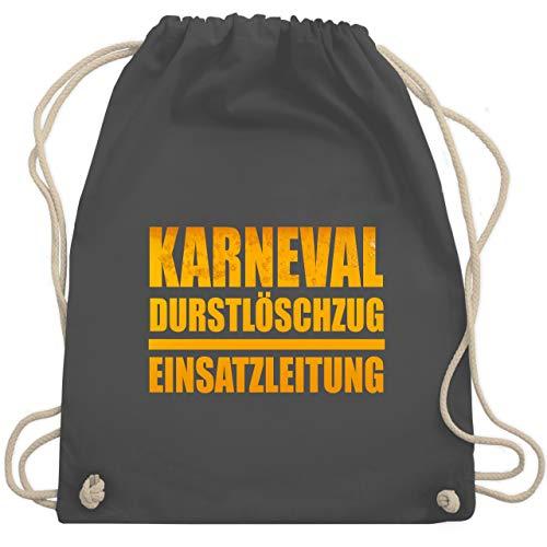 - Karneval Durstlöschzug Einsatzleitung - Unisize - Dunkelgrau - WM110 - Turnbeutel & Gym Bag ()