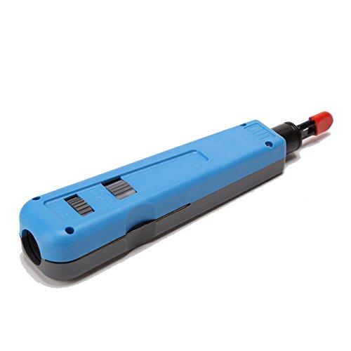 Telefon-punch (Buwico® Blue Gray Impact Punch Down Werkzeug Für Ethernet Telefon Kabel Cutter 11088)