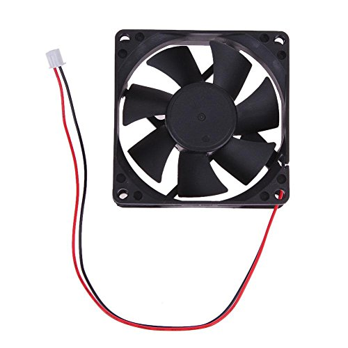 8025S 24V Brushless DC 7 Blade 2 Wires Cooling Fan 80x80x25mm