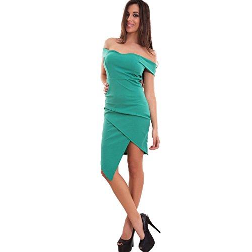 Toocool - Robe - Femme Vert
