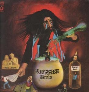 WIZZARD BREW LP (VINYL) UK HARVEST 1973