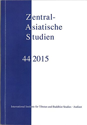 Zentralasiatische Studien 44 (2015)