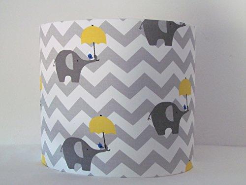 handmade-grey-and-yellow-umbrella-elephant-zig-zag-chevron-lampshade-lightshade-choice-of-colours