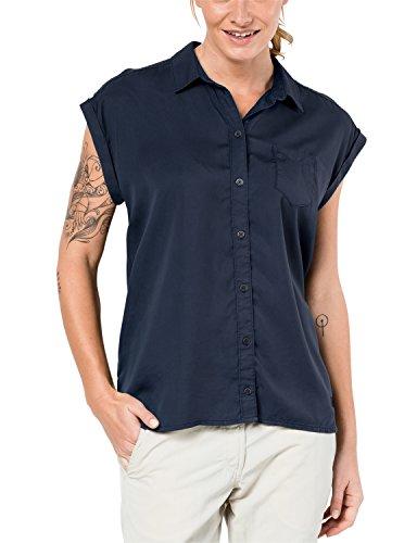 Jack Wolfskin Damen Bluse Mojave Shirt, Midnight Blue, XL, 1402581-1910005