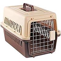 CHONGWFS Caja De Aire del Animal Doméstico Portátil 48 * 30 * 30 Cm Caja De Aire del Animal Doméstico para La Maleta del Perro/del Gato Conveniente para El ...