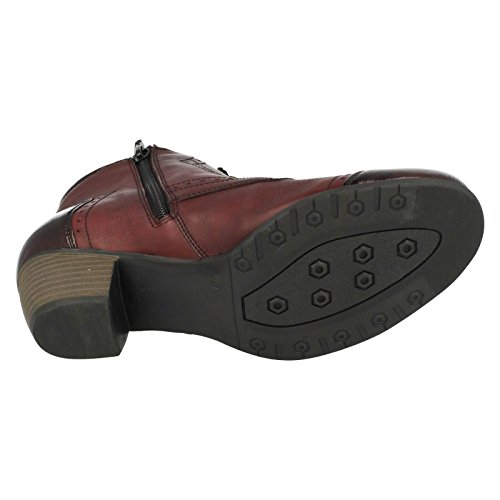 Remonte Stivali R9170-35 Rosso Rosso