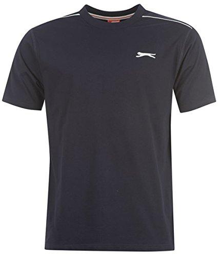 Slazenger Herren T-Shirt Mehrfarbig mehrfarbig One size Navy