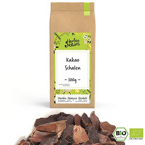 BIO Kakaoschalen (Theobroma cacao), geschnitten, 100g