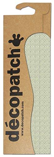 Decopatch Papier No. 650 (grün Pastell geometrische Formen, 395 x 298 mm) 3er Pack (Pappmaché-formen)