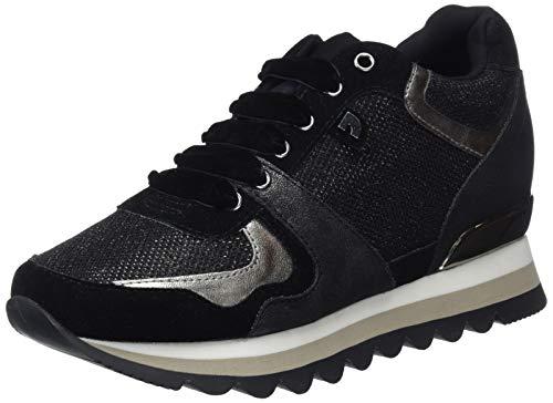 Gioseppo 46568-P, Zapatillas Mujer, Negro Negro Negro