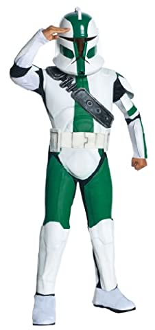 Star Wars Kinder Kostüm Clone Trooper Gree 8 bis 10 J. (Star Wars Clone Trooper Kostüm Kinder)