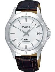 Pulsar PXH985X1 Men's Quartz Leather Watch