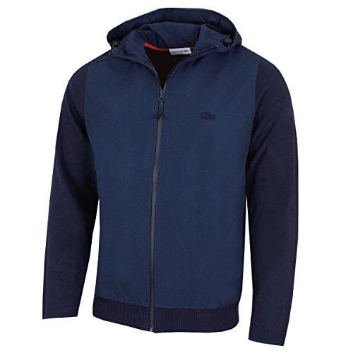 Lacoste Herren Jacke Gr. Medium, N.Blue (Lacoste Full-zip)