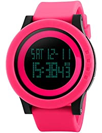 Naivo Women's Swiss Automatic Brass Plated Stainless Steel and Rubber Color:Pink (Model: WATCH-1146)