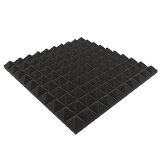 Composite-Schaum, ca. 49 x 49 x 4 CM Schaumstoff Pyramiden Akustik Schaumstoff Schalldämmung / Acoustic / Studio