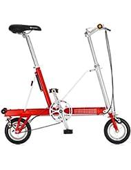 Bazaar 8 pouces roue de vélo pliant châssis en alliage d'aluminium mini-vélo