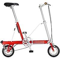 Bazaar 8 pollici ruota di bicicletta pieghevole telaio in lega di alluminio mini bicicletta
