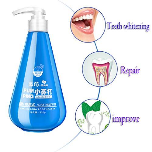 ❤AG&T❤-Home Natriumbicarbonat Zahnpasta – Fluoridfrei – Für weiße Zähne – Natürliche Zahnaufhellung – Bleaching – Aktivkohle für die Zähne – Zahn Whitening –