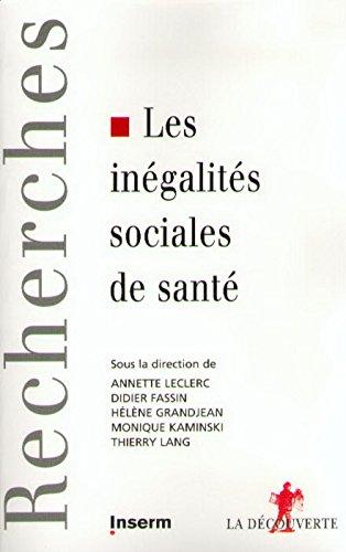 Les inégalités sociales de santé