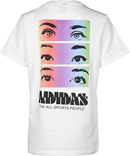 adidas OE Graphic W T-Shirt Bianco