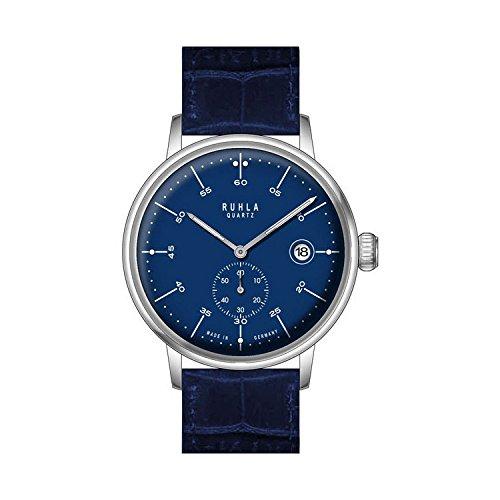 Uhr - Ruhla-Classic 75115 - Quarz Edelstahl Leder