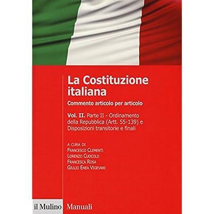 La Costituzione Italiana. Commento Articolo Per Articolo: 2