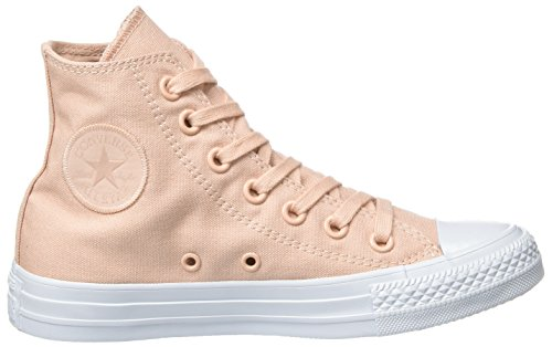 Converse Chuck Taylor All Star, Baskets Unisexe Collo Alto - Rose Adulte (rose Crépuscule / Rose Crépuscule / Platine)