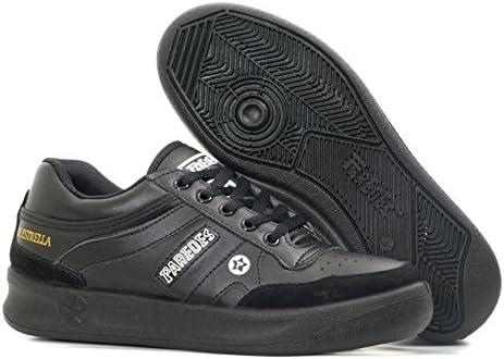 Paredes DP100 ne36 estrella zapatos de trabajo O1 talla 36 NEGRO