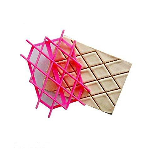 Preisvergleich Produktbild caolator Küche Werkzeug DIY Party von der Küche ein Kuchen-Tools Dekorieren mit Mesh-Grundlage rautenmaschennetz, stirbt der besondere Form mit mit Zuckerpaste