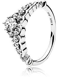 7bbe75382 Pandora Women Silver Piercing Ring - 196226CZ-54