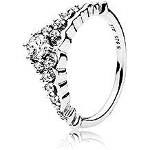 Pandora Women Silver Piercing Ring - 196226CZ-52