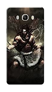 Samsung Galaxy On8 Black Hard Printed Case Cover by Hachi - Lord Shiva Design