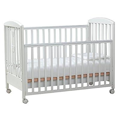 Postes 016800 - Cuna bebé, color Blanco