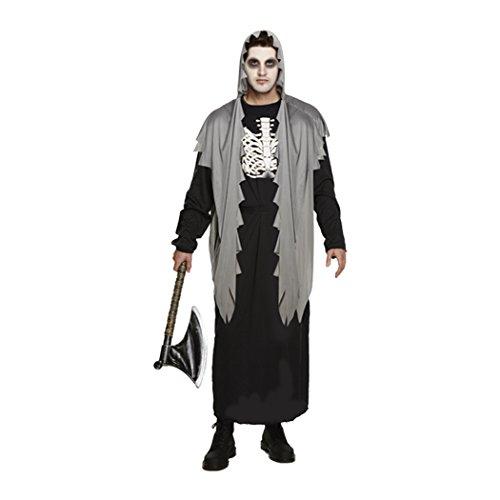 Kostüm für Erwachsene, Damen und Herren, Halloween, Party, Trick or Treat Gr. Einheitsgröße, Ubs-adult-grave-digger-v25085 (Grave Digger Kostüm)