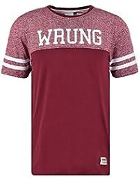 T-shirt Wrung Beast Burgundy
