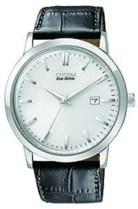 Citizen BM7190-05A Montre bracelet Homme, Cuir, couleur: noir
