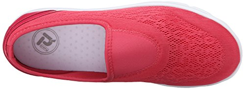 Propet TravelActiv Slip On Femmes étroit Chaussure de Marche Watermelon Red