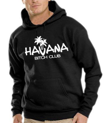 Touchlines Herren Havana - Bitch Club Kapuzen Sweatshirt B7024 black XL Preisvergleich