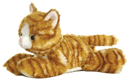 Aurora World 8-inch Mini Flopsie Molly Cat