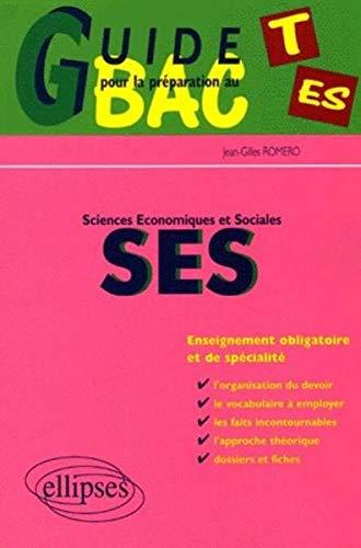 Guide pour la préparation au bac ES : Sciences économiques et sociales