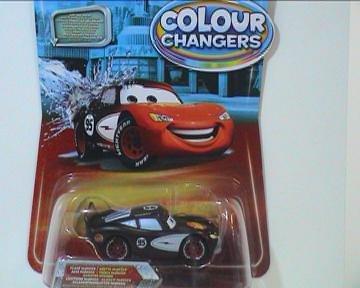 DISNEY CARS Color Changers - Lightning McQueen Spielzeug Auto - Farbe wechselt sich durch Wasser (Radiator Springs) (Cars Disney Spielzeug Wasser)