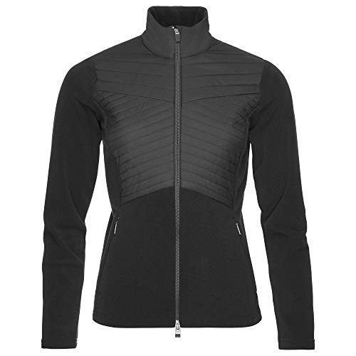 Kjus Women Scylla Midlayer Jacket Schwarz, Damen Freizeitpullover, Größe 42 - Farbe Black