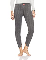 Dollar Ultra Womens Synthetic Thermal Bottom (MULT-001_Charcoal Melange_L)