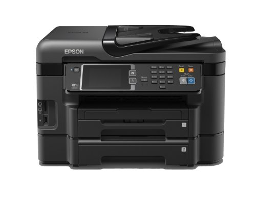 Epson WorkForce WF-3640DTWF A4 4-in-1 Business Printer - Black