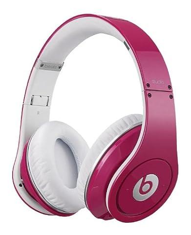 Beats by Dr. Dre Monster Studio High-Definition Powered Isolation Over-Ear-Kopfhörer pink