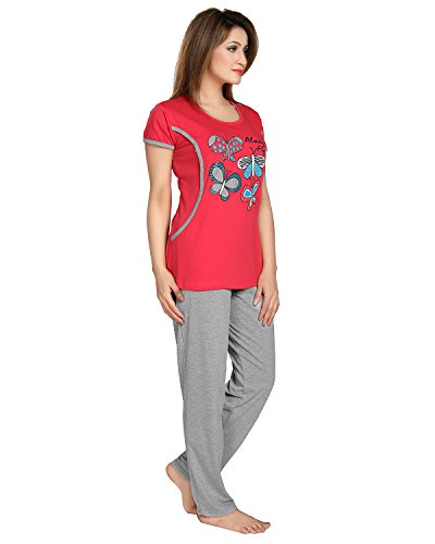 AV2 Women Cotton Graphic Feeding/Nursing/Maternity Top & Pyjama Set
